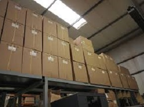 warehouse for storage